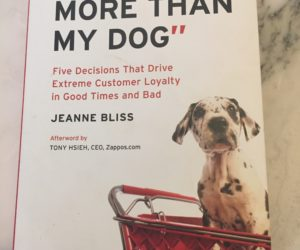 Book review: I love YOU More than my DOG by Jeanne Bliss